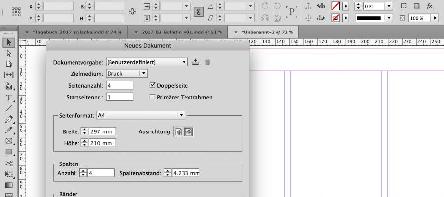 InDesign CC Modul 3 – Effizientes Arbeiten mit InDesign | 16.+17.10.2017 | Zürich