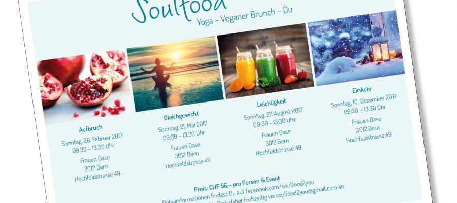 SoulFood-Brunch bekommt den 2017er Flyer und geht somit ins 3. Jahr
