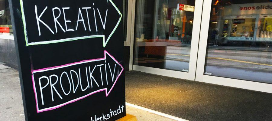 """CoWorking Space in """"La Werkstadt"""" in Biel"""