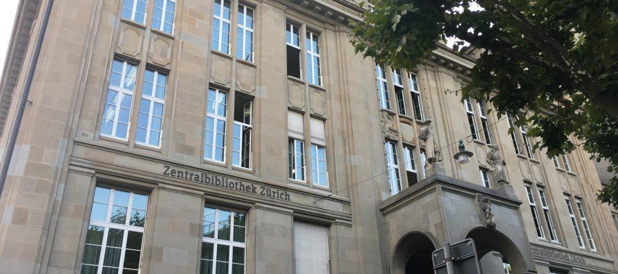 InDesign Schulung Zentralbibliothek Zürich