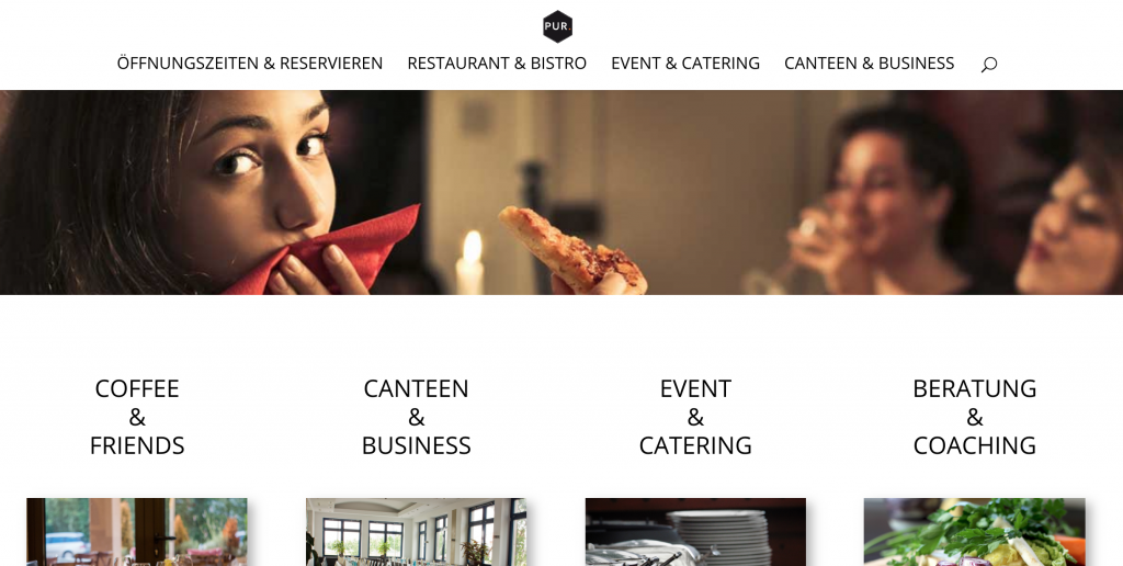 Corporate Design | Restaurant Pur.