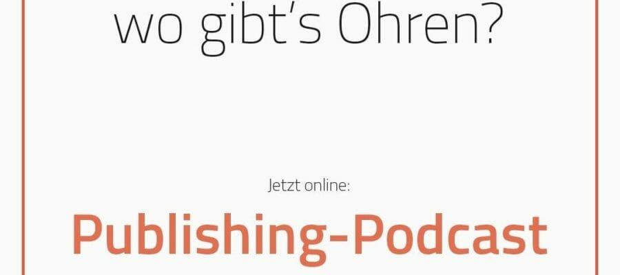 publishing podcast⠀ ⠀ heute ist es so weit die erste episode des publishing podcasts ist online 1 1