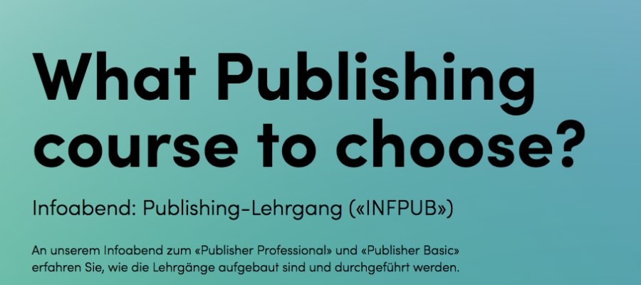 Infoabend: Publishing-Lehrgänge «Publisher Professional» und «Publisher Basic» | Digicomp 25.10.2018 in Zürich