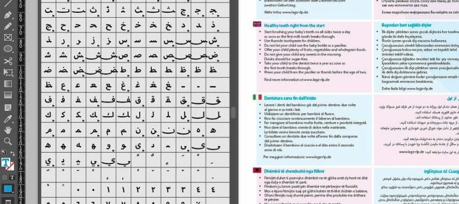 viele designer setzen ganz selbstverstaendlich europaeische fremdsprachen in indesign – ohne eine