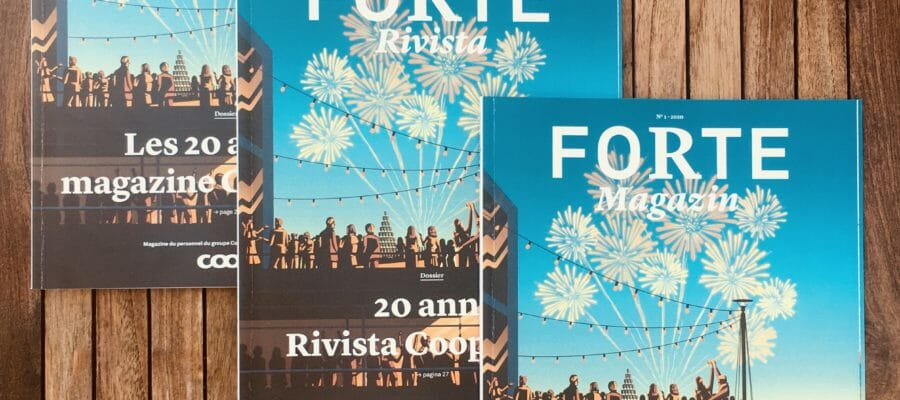Technische (InDesign-Template-)Umsetzung des Personalmagazins «Forte» der Coop-Gruppe