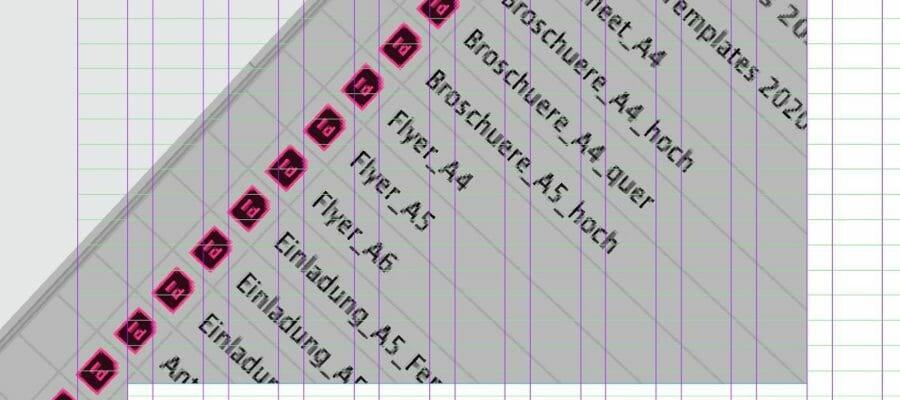 flyer broschueren gutscheine und banner – alle im mobiliar design und optimiert fuer die anbindung